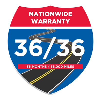 Technet 36 month 36,000 mile warranty